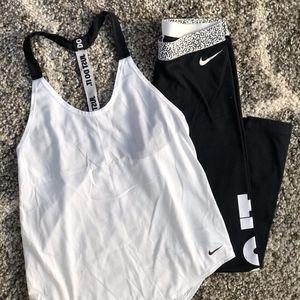 Nike Tank + Nike Leggings